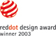 2003 red dot design award