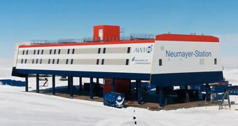 Neumayer Station III Antarctica, Antarctique