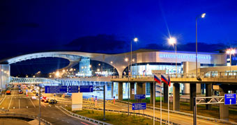 Sheremetyevo International Airport Moskau, Russland