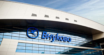 International Airport Vnukovo Moscow, Russland
