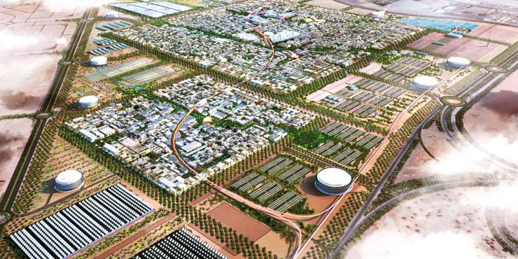 Masdar City Masdar, Emiratele Arabe Unite