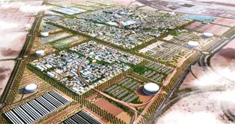 Masdar City Masdar City, Förenade Arabemiraten