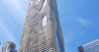 Aqua Tower Chicago, Estados Unidos de América