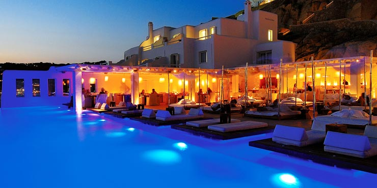 Cavo Tagoo Mykonos, Greece