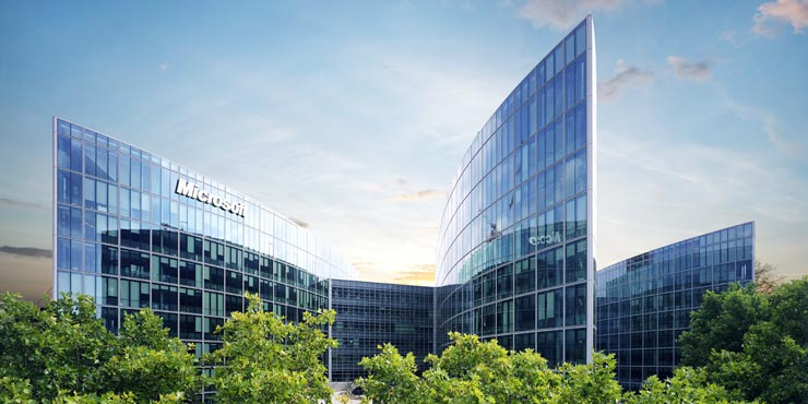 Microsoft European Headquarters Issy-Les-Moulineaux, Франция