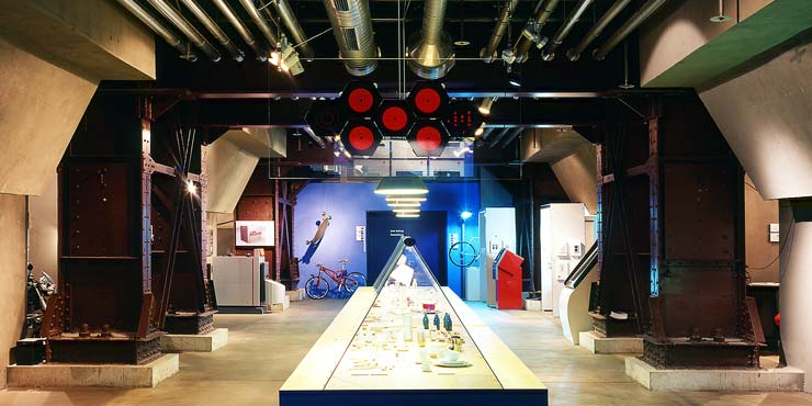Red dot museum Essen, Tyskland
