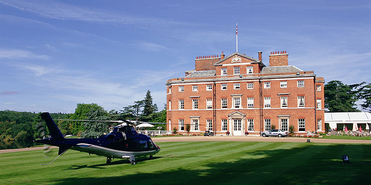 Brocket Hall Hertfordshire, Storbritannien