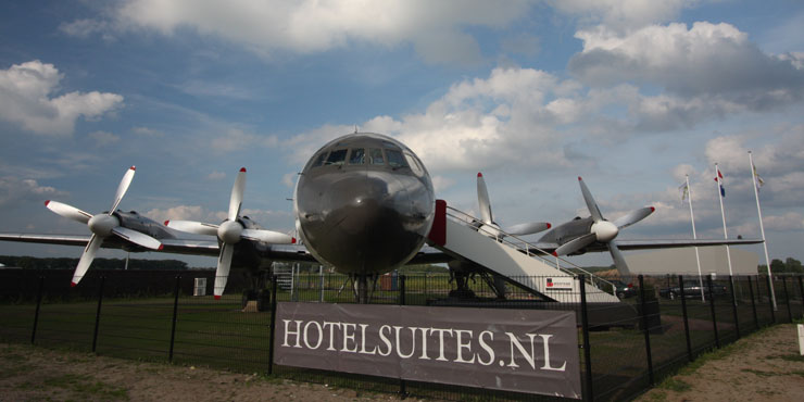 Luxe Hotel Suites Airplane Teuge, Holland