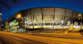Rudolf-Harbig-Stadium Dresden, Germany