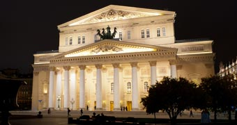Bolshoi Theatre Moscow, Russland