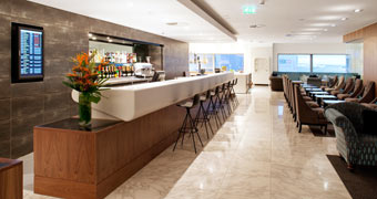 Heathrow Terminal 3 – No. 1 traveller lounge Londen, Engeland