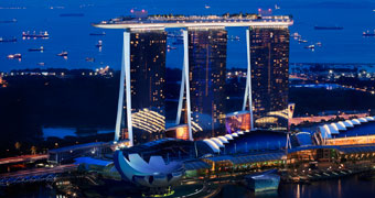 Отель Marina Bay Sands Сингапур, Сингапур